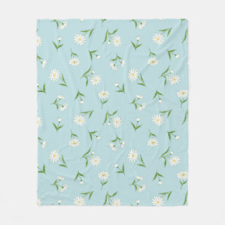 Daisies in the Sky Fleece Blanket