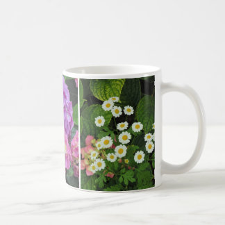 Daisies, Lilies, Hydrangeas Coffee Mug