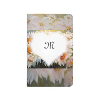 daisies monogram journal
