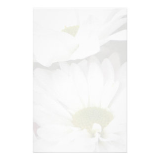 Daisies-Muted Floral Personalized Stationery