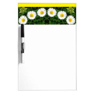 Daisies Nature, Flower-Mandala Dry-Erase Boards