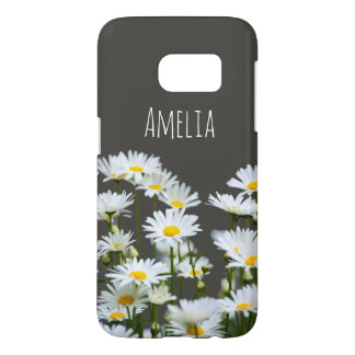 Daisies on Grey