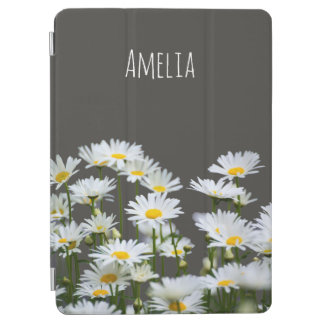 Daisies on Grey iPad Air Cover