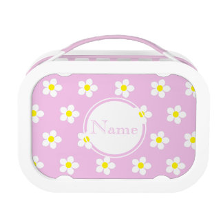 Daisies On Pink yubo Lunch Box (Customize it)
