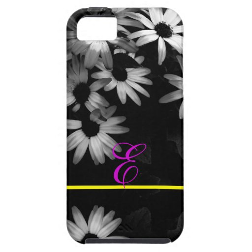 daisies original black and white photography iPhone 5 covers