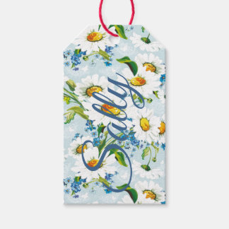Daisies Personnalised Gift Tags