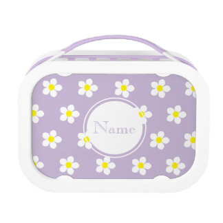 Daisies Purple yubo Lunch Box (Customize it)