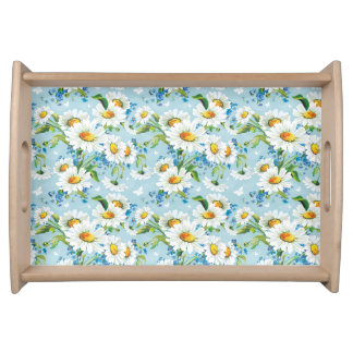 Daisies Small Serving Tray