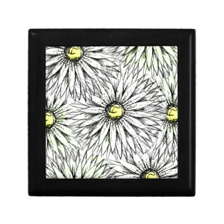 Daisies Small Square Gift Box