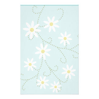 Daisies Stationery-Floral Stationery