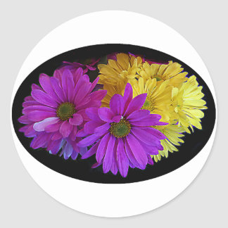 Daisies The MUSEUM Zazzle Gifts Stickers