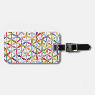 Daisy a Day Quilt Luggage Tag