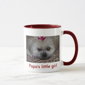 Daisy as Papa's Little girl Mug