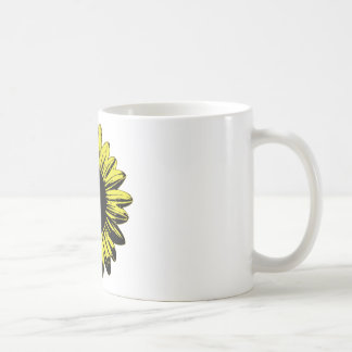 Daisy Basic White Mug