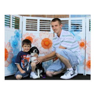Daisy - Beagle and Labrador Mix Postcard