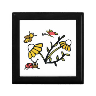 Daisy, Bee, Butterfly and Ladybug Gift Box