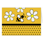 Daisy Bee Thank You Notecards Note Card