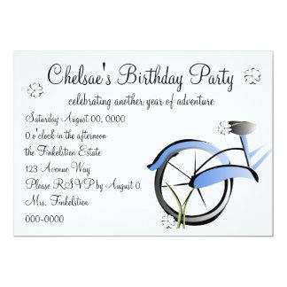 Daisy Bike Ride Card