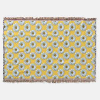 Daisy Blanket Yellow Daisies Throw Blanket