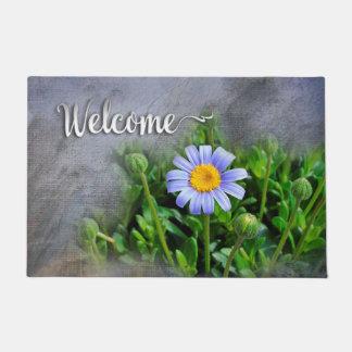 """Daisy Bloom - """"Welcome"""" Doormat"""