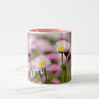 Daisy Blossoms Elegant  Romantic  Wedding Parties Mug