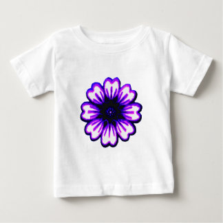 Daisy Blue Purple transp The MUSEUM Zazzle Gifts T-shirt