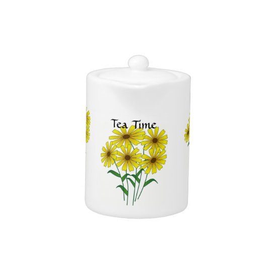 Daisy Bouquet Tea Time Teapot
