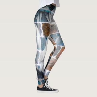 Daisy Brick Leggings
