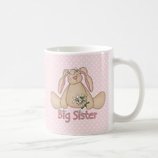 Daisy Bunny Big Sister Classic White Coffee Mug
