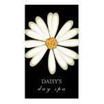 Daisy Business Card Black White