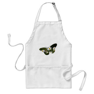 Daisy Butterfly Collage Standard Apron