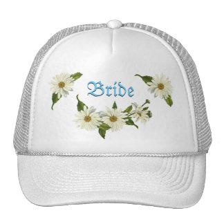Daisy Cluster Bride s Cap Trucker Hat