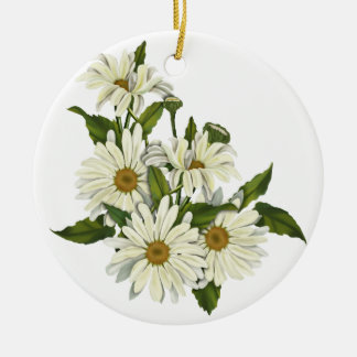 Daisy Cluster Christmas Ornament