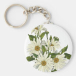 Daisy Cluster Key Chain
