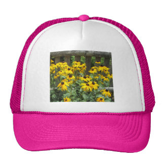 Daisy Cluster Weathered Fence Trucker Hat