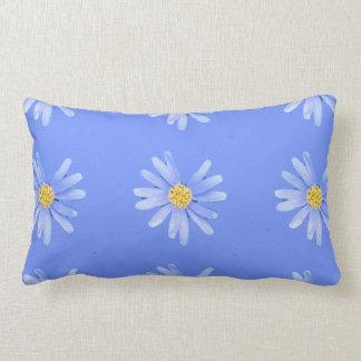 daisy cornflower lumbar cushion