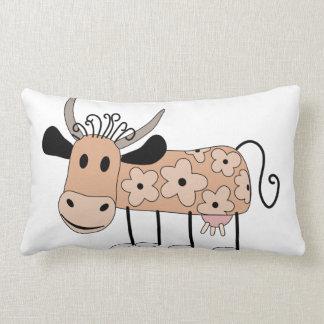 Daisy Cow Lumbar Cushion