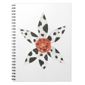 Daisy Cow No Background Notebook