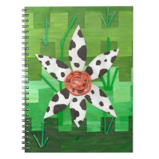 Daisy Cow Notebook