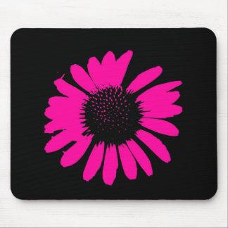 """Daisy Crazy"" - Hot Pink Daisy Mouse Mat"
