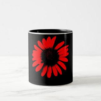Daisy Crazy - Red Daisy Mug