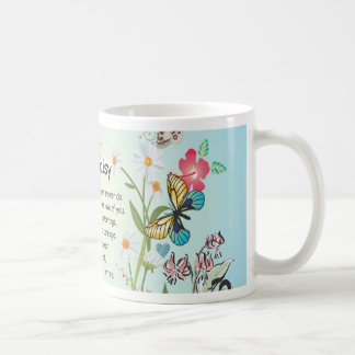 Daisy, daisy, give me the answer do... classic white coffee mug