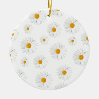Daisy, daisy - lovely flower design christmas ornament