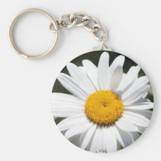 Daisy Darling Basic Round Button Key Ring