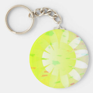 Daisy daze key6 basic round button key ring