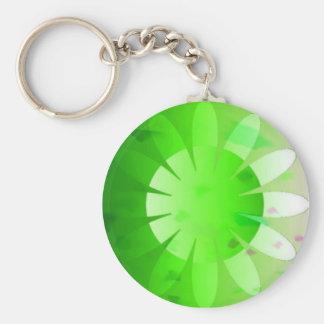 Daisy daze keyring 1 basic round button key ring