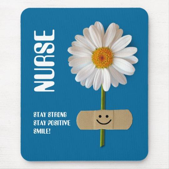Daisy Design Nurses Day Gift Mousepad
