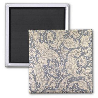 'Daisy' design (textile) Square Magnet
