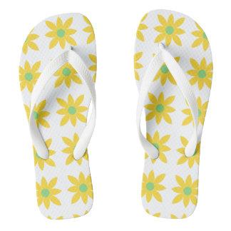 Daisy design thongs