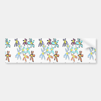 Daisy Designs by Carole Tomlinson Bumper Sticker